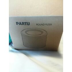 PARTU HEPA Air Purifier Filter LW-02 Round Filter ONLY NEW OPEN BOX