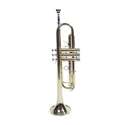 Kyпить Le'Var LV100 Student Trumpet with Case and Silver Plated Mouthpiece на еВаy.соm