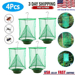 Kyпить 4 Pack The Ranch Fly Trapper Reusable Pest Bug Fly Catcher Killer Cage Net Trap на еВаy.соm