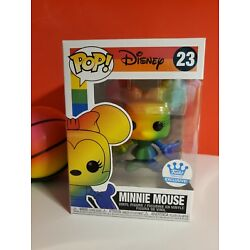Kyпить Funko Minnie Mouse Rainbow ???? 2021 Exclusive with stickers, Newly released.  на еВаy.соm