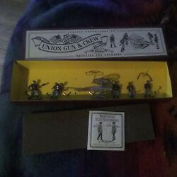 Kyпить britains toy soldiers union gun&crew boxed8875 cannon + 5 soldiers NM на еВаy.соm