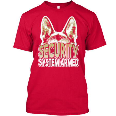 img-Gsd Security System Armed Classic T-Shirt - 100% Cotton By Snazzy Shirts
