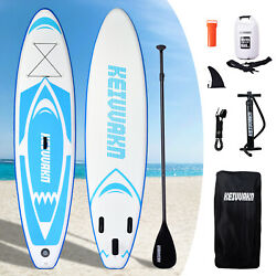 Inflatable Stand Up Paddle Board 11'x33''x6'' Wide Stance Anti-Slip Deck Adults