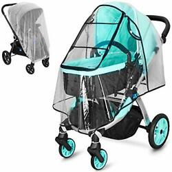 Stroller Rain Cover and Baby Stroller Mosquito Net(2-Piece Set),Baby Travel