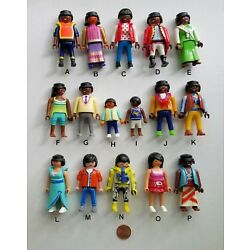 PLAYMOBIL Black & Asian/Pick & Choose $1.95 Each/Combined Shipping Available