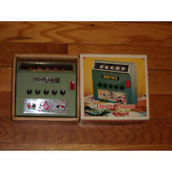 Vintage 1971 WACO Draw Poker CORDLESS ELECTRIC AUTOMATIC GAME Excellent Cond.