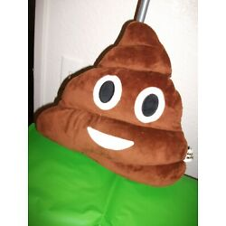 poop emoji pillow NEW stuffed toy decoration - adorable gift
