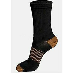 Copper Fit (2) Pairs Copper Infused Calf High Socks