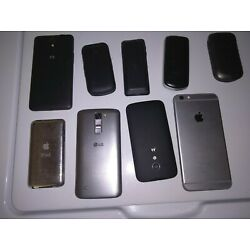 Bundle Of Untested Cell Phones. Various Models