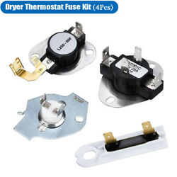 3387134 Dryer Thermostat 3977393,3392519,3977767 Thermal Fuse Kit for whirlpool