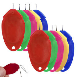 5-20 Needle Threader for Hand Sewing 10 Pcs Plastic Wire Loop Simple DIY Sewing