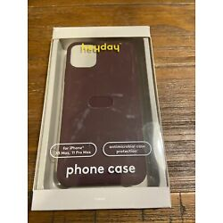 heyday Apple iPhone 11 Pro Max/XS Max Silicone Case - Mulberry Purple 063