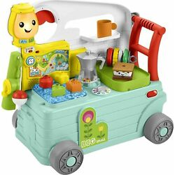 Fisher-Price Laugh and Learn 3-in-1 On-the-Go Camper Brand New Toddlers Toy Gift