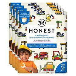 The Honest Company Toddler Training Pants Construction Zone 2T/3T 104 Count E...