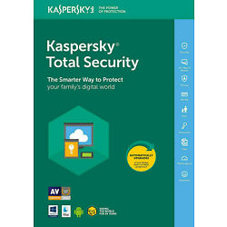 Kaspersky Total Security 2021 / 1 User / 1 Year / Global / Fast eDelivery