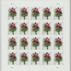 2020 Boutonniere Sealed Postage Wedding Gift 5 Sheets Of 20 Postage