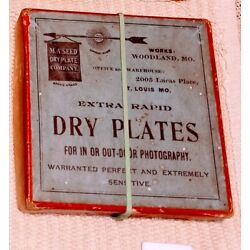 Seed photographic dry plates