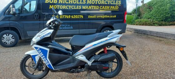 HONDA NSC 50 R SAMSUNG RACE REPLICA SCOOTER/MOPED 2014 MODEL MOTed JUST 5846 M