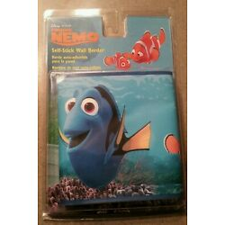 New Disney Finding Nemo with Dory in Blue Sea Self-Stick Removable Wall Border