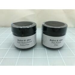 Judd's Lot of 2 New Jars Before & After Pen Polish - Fine & Extra Fine