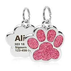 Personalized Dog Cat Tags Engraved Cat Dog Puppy Pet ID Name Collar Tag Pendant