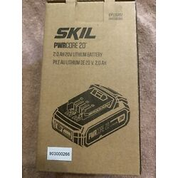 New SKIL PwrCore 20 Lithium Ion 20v 2ah Battery