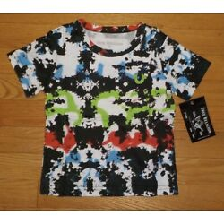 True Religion Baby Boys Tee T-Shirt Multi Color Toddler 2 2T NWT
