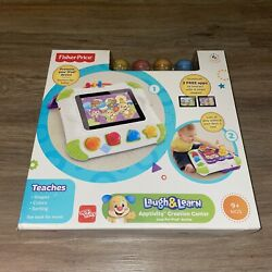 Fisher-Price Laugh and Learn Apptivity Creation Center Case Shapes Blocks Y6971