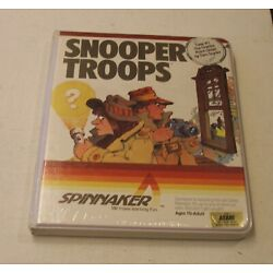 CLASSIC: Snooper Troops Case #1 by Spinnaker Software for Atari 400/800 - NEW