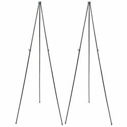 Quartet Easel Instant Easel Stand 63'' Supports 5 lbs. Tripod Base 2 Pack 29EAZ2