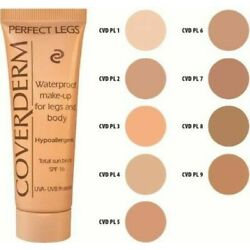 Coverderm Perfect Legs Waterproof Body Makeup for Legs Full size