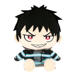 Fire Force Kusakabe Shinra Plush Doll S size 7.87 inches 20 cm Gift Japan NEW