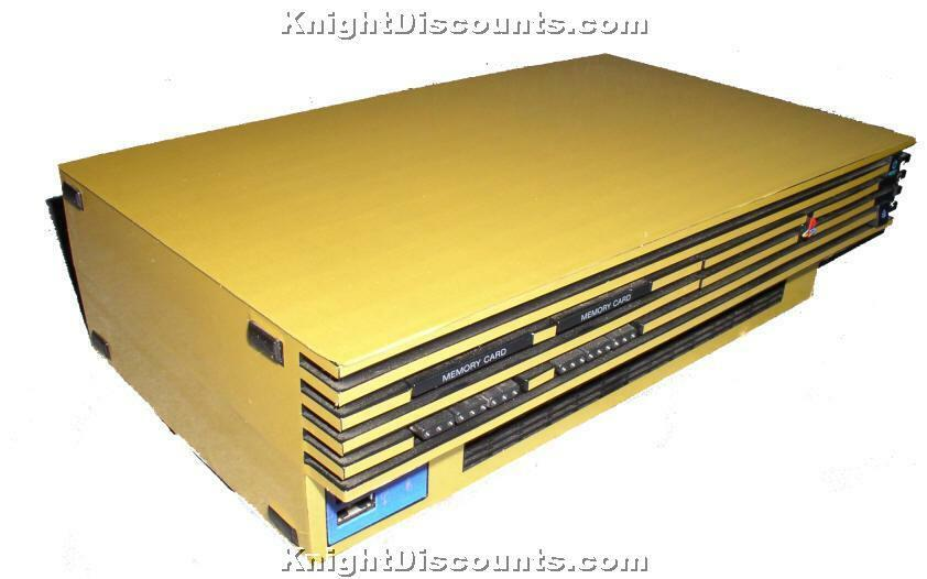 PS2 & Playstation 2 SLIM GOLD Skin Case Mod Sticker NEW | eBay Ps2 Console Back