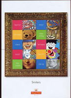 GB QE2 SMILERS SHEET 2001 SMILES LS5