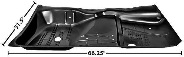1961 1964 impala floor pan rh new ebay