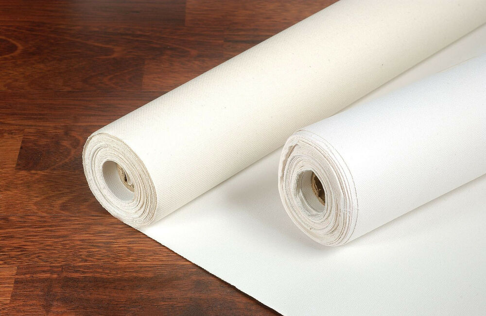 Loxley 11oz acrylic primed cotton blank artist canvas roll for Canvas roll for painting