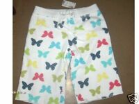 NWT$27  LIMITED TOO BUTTERFLY SHORTS GIRLS SIZE 8