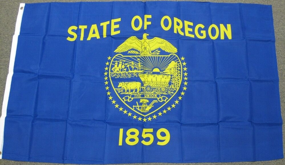3x5 oregon state flag or flags states new usa us f267 ebay. Black Bedroom Furniture Sets. Home Design Ideas