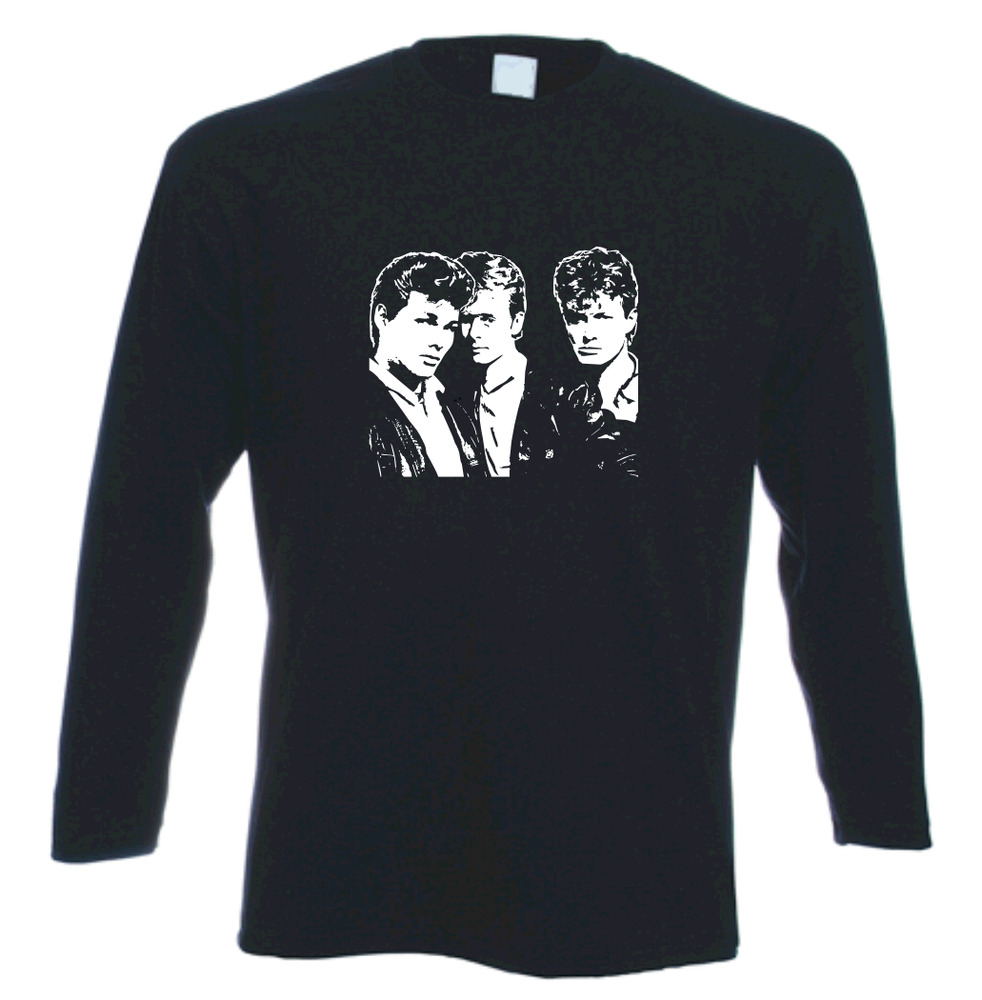 A ha tribute retro long sleeve t shirt ebay for Retro long sleeve t shirts
