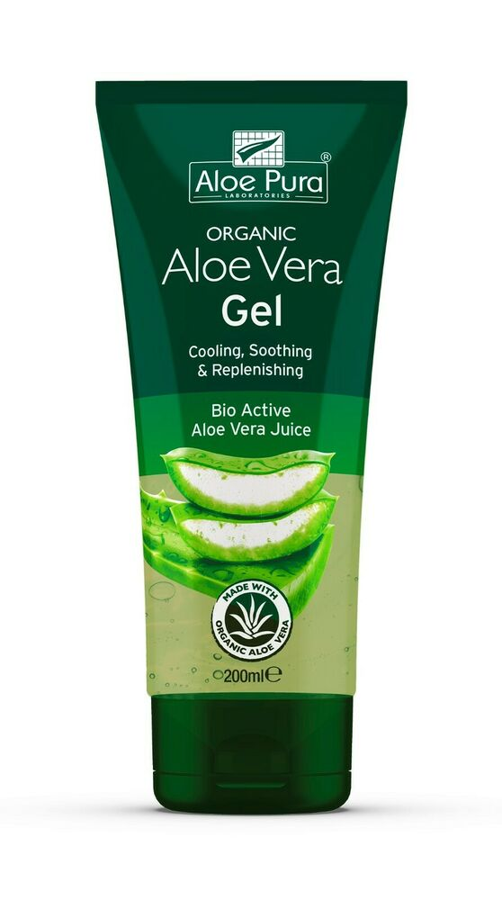 aloe pura organic aloe vera gel 200ml 1 tube ebay. Black Bedroom Furniture Sets. Home Design Ideas