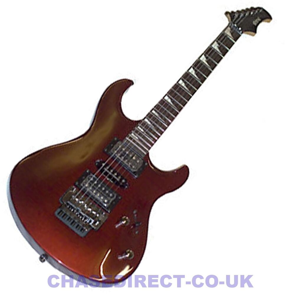 shine sd 220 electric guitar with seymour duncan pickups floyd rose tremolo ebay. Black Bedroom Furniture Sets. Home Design Ideas