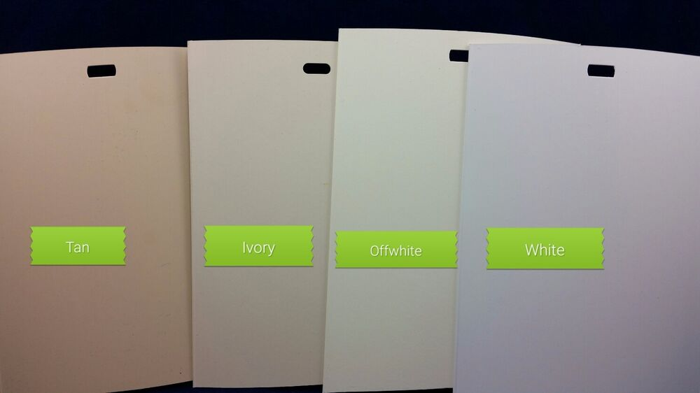 Vertical Blind Replacement Pvc Vanes White Offwh Ivory Tan
