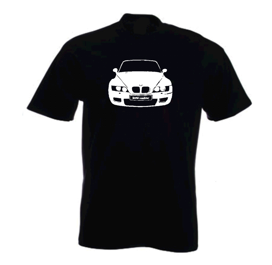 bmw z3 roadster tribute car t shirt ebay. Black Bedroom Furniture Sets. Home Design Ideas