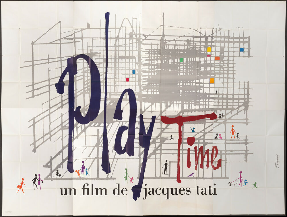 general overview of the film play time by jacques tati An overview of film schools  a parte de por la tonalidad en general que sigue la película,  play time, 1967 (dir jacques tati) from movies in frames.