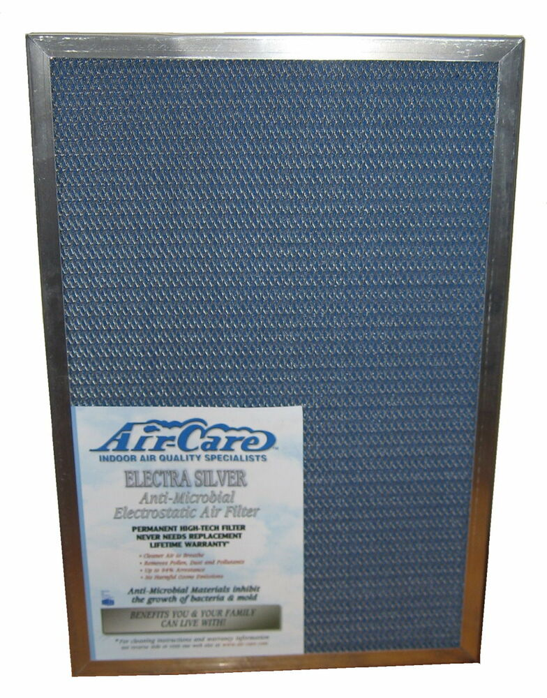 Ac Air Filter Sizes : Electrostatic furnace a c air filter washable