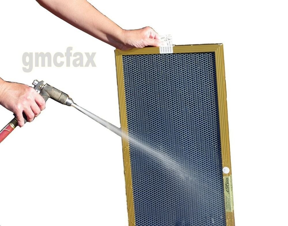 Washable Furnace Filters >> Air Care 20x25x1 GOLD Electrostatic Furnace A/C Filter, Permanent and Washable | eBay
