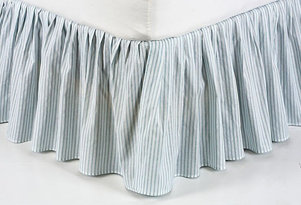 Striped Bed Skirt Twin