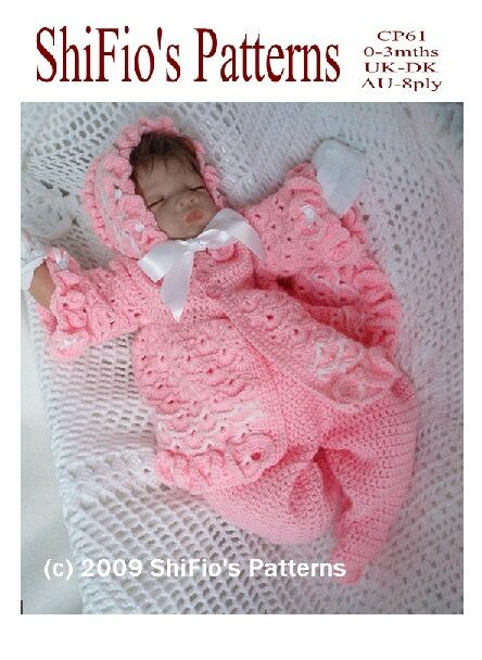 Crochet Pattern For Baby Girl Jacket Hat Leggings 61 This Is Not