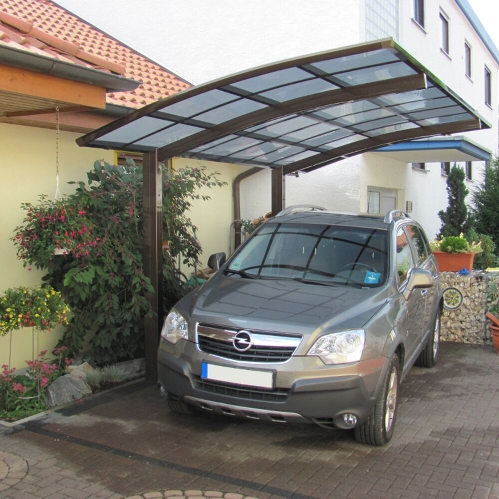 aluminium carport bauen einzelcarport bausatz bogendach freistehend 495 x 270 cm ebay. Black Bedroom Furniture Sets. Home Design Ideas