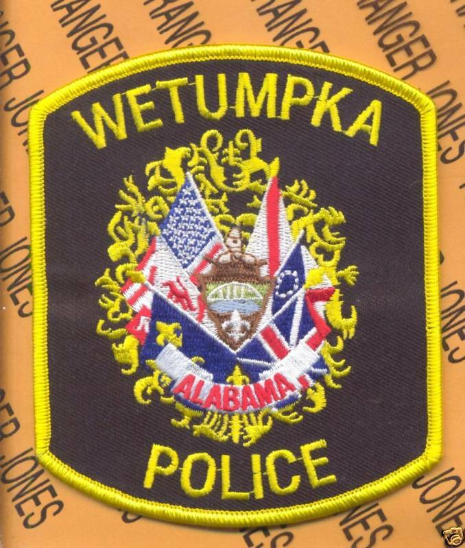 Saraland Police Department: WETUMPKA ALABAMA WPD POLICE PD LEO Patch